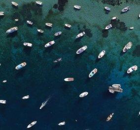 Μύκονος: Το νησί των ανέμων με το βαθύ μπλε σε μία μοναδική φωτογραφική λήψη από τον Κώστα Σπαθή - Κυρίως Φωτογραφία - Gallery - Video