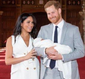 """Θα """"λιώσετε"""" : Η υπέροχη ασπρόμαυρη φωτογραφία του πρίγκιπα Χάρι με το γιο του - για τη γιορτή του πατέρα (φώτο) - Κυρίως Φωτογραφία - Gallery - Video"""