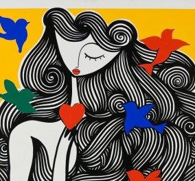 Το ονειρικό σύμπαν του SONKE στη Μύκονο - Εγκαίνια το Σάββατο στην Kapopoulos Fine Arts Gallery  - Κυρίως Φωτογραφία - Gallery - Video