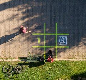 Good News:Τα digital παγκάκια στο Παγκράτι διηγούνται την ιστορία τους (φώτο) - Κυρίως Φωτογραφία - Gallery - Video