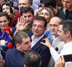 Δημοτικές εκλογές στην Τουρκία: Μεγάλος νικητής για δεύτερη φορά ο Ιμάμογλου   - Κυρίως Φωτογραφία - Gallery - Video