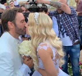 Έγινε ο γάμος Στράτου Τζώρτζογλου- Σοφίας Μαριόλα- Όλες οι φώτο & τα βίντεο από τον κρητικό γάμο αλά Ζορμπά του ερωτευμένου ζευγαριού  - Κυρίως Φωτογραφία - Gallery - Video