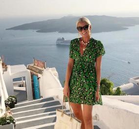 Aς ακολουθήσουμε την διάσημη Ελληνοσουηδέζα Anna Skoog Mavridi στο ταξίδι της στην Σαντορίνη – Απίθανη γκαρνταρόμπα (φωτό) - Κυρίως Φωτογραφία - Gallery - Video