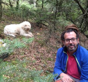 Αποκλειστικό – Made in Greece η «Ύδνον» & ο Δημήτρης Δημόπουλος: Με ειδικά εκπαιδευμένους σκύλους οργώνει τα βουνά για να βρει τρούφες – Τις βάζει σε βαζάκι & τις κάνει γκουρμέ επιλογές - Κυρίως Φωτογραφία - Gallery - Video