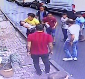 Η συγκλονιστική στιγμή που ένας 17χρονος αρπάζει στον αέρα & σώζει 2 ετών κοριτσάκι - Έπεσε από τον δεύτερο όροφο (βίντεο) - Κυρίως Φωτογραφία - Gallery - Video