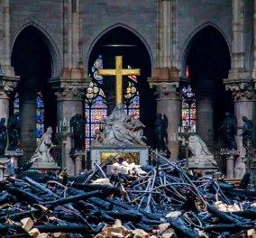 H Παναγία των Παρισίων ανοίγει ξανά τις πύλες της μετά την μεγάλη πυρκαγιά – Το Σάββατο θα μεταδοθεί ζωντανά Λειτουργία - Κυρίως Φωτογραφία - Gallery - Video
