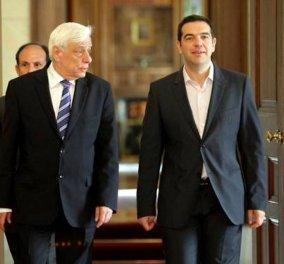 Στον Παυλόπουλο το απόγευμα ο Αλέξης Τσίπρας για πρόωρες κάλπες - Θα ζητήσει τη διάλυση της Βουλής - Κυρίως Φωτογραφία - Gallery - Video