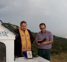 """Ο ιερέας έκανε αγιασμό στο Σέιχ Σου για το έντομο- φονιά - ''Μην μας κοροϊδεύετε γιατί ''μεγάλη μπουκιά φάε, μεγάλη κουβέντα μη λες"""" - Κυρίως Φωτογραφία - Gallery - Video"""