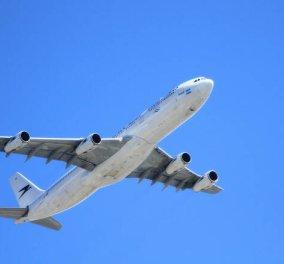 Τρόμος στον αέρα: Ο κινητήρας αεροπλάνου από Κρήτη προς Ρόδο εξερράγη στον αέρα - Κυρίως Φωτογραφία - Gallery - Video