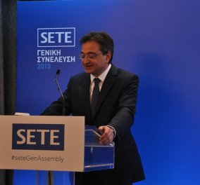 """Φωκίων Καραββίας στη συνέλευση του ΣΕΤΕ: """"Η Eurobank είναι η τράπεζα του ελληνικού τουρισμού στην πράξη"""" - Κυρίως Φωτογραφία - Gallery - Video"""
