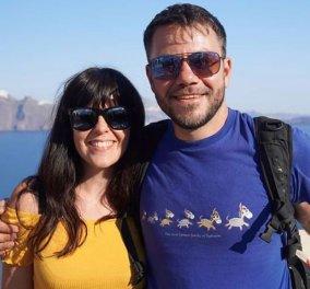 Ευτύχης Μπλέτσας: Χαλαρή βόλτα στην Θεσσαλονίκη με την νεογέννητη κορούλα του & την πανέμορφη σύζυγό του - Κυρίως Φωτογραφία - Gallery - Video