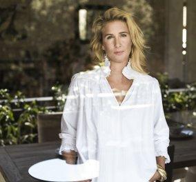 Στο showroom της Themis Z: Η σχεδιάστρια Θέμις Ζουγανέλη - Κανελλοπούλου υποδέχθηκε το eirinika - Η μόδα από τα πιάτα έως τα ρούχα! (φωτό & βίντεο ) - Κυρίως Φωτογραφία - Gallery - Video