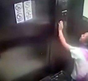 Βίντεο - θρίλερ με 9χρονη να προσπαθεί απεγνωσμένα να σταματήσει ασανσέρ, καθώς πέφτει από τον 19ο όροφο - Κυρίως Φωτογραφία - Gallery - Video