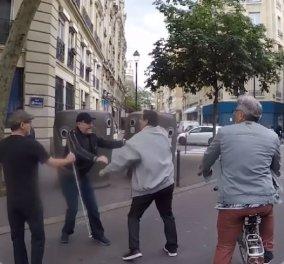 Γαλλία: Οργή για ανεκδιήγητο οδηγό- Παραλίγο να χτυπήσει ένα τυφλό - Έδειρε τον συνοδό του (βίντεο) - Κυρίως Φωτογραφία - Gallery - Video