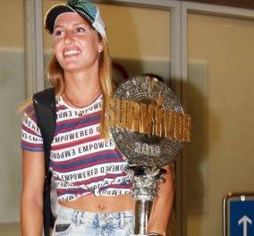 Survivor 3: Ο ποδοσφαιριστής που υποδέχθηκε την Κατερίνα Δαλάκα στο αεροδρόμιο - Πήρε και τις βαλίτσες της.... (φωτό) - Κυρίως Φωτογραφία - Gallery - Video