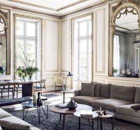 Δείτε αυτό το καταπληκτικό γαλλικό διαμέρισμα - Συνδυάζει τη σύγχρονη πολυτέλεια με τη μεγαλοπρέπεια του παλιού αρχοντικού  (φώτο) - Κυρίως Φωτογραφία - Gallery - Video