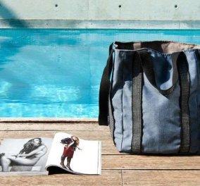 "Made in Greece οι τσάντες θαλάσσης ""I M BEACH"": Ευρύχωρες, σικάτες & ελαφριές για εντυπωσιακές εμφανίσεις στην παραλία - Κυρίως Φωτογραφία - Gallery - Video"