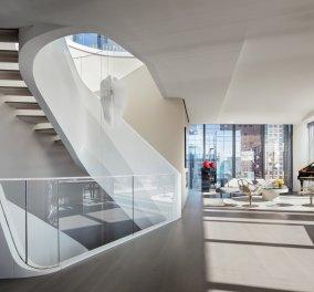 Τριώροφο ρετιρέ υπερπαραγωγή στο Μανχάταν - Πωλείται 43 εκ ευρώ - Έργο της θρυλικής αρχιτέκτονος Zaha Hadid (φώτο) - Κυρίως Φωτογραφία - Gallery - Video