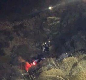 Μύκονος: Γουρούνα έπεσε σε γκρεμό 20 μέτρων - Σοβαρά τραυματισμένη η 22χρονη οδηγός (φώτο) - Κυρίως Φωτογραφία - Gallery - Video