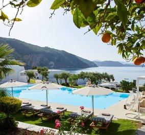 Lichnos Beach Hotel & Suites: Κομψά δωμάτια, υπέροχη αμμώδης παραλία & ένας ολάνθιστος κήπος - Κυρίως Φωτογραφία - Gallery - Video