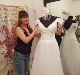 MadeinGreeceτα νυφικά της Δήμητρας Χαραλάμπους: Δαντέλες, μεταξωτές μουσελίνες & σατέν σε παραμυθένιες δημιουργίες για την ομορφότερη μέρα του γάμου σας - Κυρίως Φωτογραφία - Gallery - Video