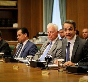 Πρώτο Υπουργικό συμβούλιο – Μητσοτάκης: ''Ώρα να ενώσουμε τις Ελληνίδες & τους Έλληνες, με όραμα ευημερίας και προκοπής (φωτό & βίντεο)  - Κυρίως Φωτογραφία - Gallery - Video