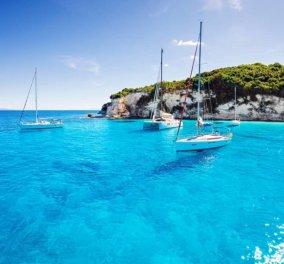 Παξοί: Χαλαρές στιγμές υπό το φως του λαμπερού ήλιου στα καταγάλανα νερά του Ιονίου - Καταπληκτική η φωτογραφία της ημέρας - Κυρίως Φωτογραφία - Gallery - Video