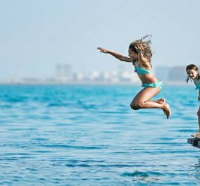 Καιρός: Ώρα για βουτιές στην παραλία - Ανεβαίνει η θερμοκρασία σήμερα Παρασκευή  - Κυρίως Φωτογραφία - Gallery - Video