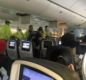 Φωτό & βίντεο: Η πτήση θρίλερ του Boeing της Air Canada λόγω αναταράξεων - 37 τραυματίες - Κυρίως Φωτογραφία - Gallery - Video
