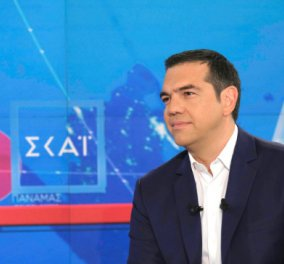 Ο Αλέξης Τσίπρας στον ΣΚΑΪ σε μια συνέντευξη - μαραθώνιο: Το Μάτι, Βαρουφάκης, Μνημόνιο, κότερο, Πετσίτης  - Κυρίως Φωτογραφία - Gallery - Video