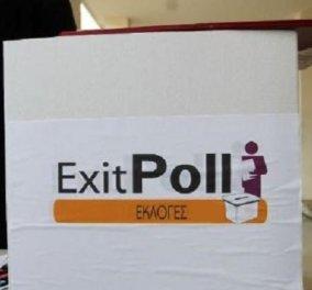 Τελικό exit poll  - Βουλευτικές εκλογές 2019: Νίκη της Νέας Δημοκρατίας δείχνει το 100% του exit poll - Κυρίως Φωτογραφία - Gallery - Video