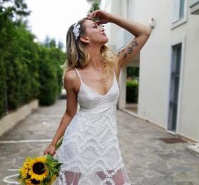 Η Εύα Τσάχρα του YFSF ντύθηκε νυφούλα – Δείτε φωτό από τον υπέροχο γάμο της (φωτό & βίντεο) - Κυρίως Φωτογραφία - Gallery - Video