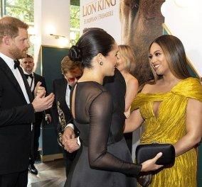 Πρεμιέρα του Lion King: Beyoncé & Megan Markle μαζί – Σκιστό ως τον γοφό για την τραγουδίστρια, υπέρκομψη total black η Δούκισσα (φωτό) - Κυρίως Φωτογραφία - Gallery - Video