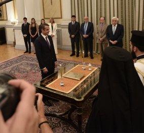 Δείτε στο βίντεο την ορκωμοσία του νέου Πρωθυπουργού της Ελλάδας, Κυριάκου Μητσοτάκη - Κυρίως Φωτογραφία - Gallery - Video