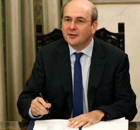 Κωστής Χατζηδάκης στην τελετή παραλαβής: Οι 8 προτεραιότητες του νέου υπουργού & η διάσωση της ΔΕΗ (βίντεο) - Κυρίως Φωτογραφία - Gallery - Video