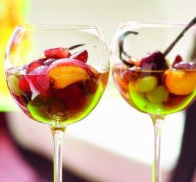 Στέλιος Παρλιάρος: Τα καλοκαιρινά φρούτα πρωταγωνιστές στην πιο δροσερή κομπόστα - Κυρίως Φωτογραφία - Gallery - Video