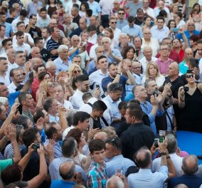 Κυριάκος Μητσοτάκης στη Βέροια:  Έχω υποχρέωση να ενώσω τους Έλληνες σε ένα κοινό όραμα (βίντεο) - Κυρίως Φωτογραφία - Gallery - Video