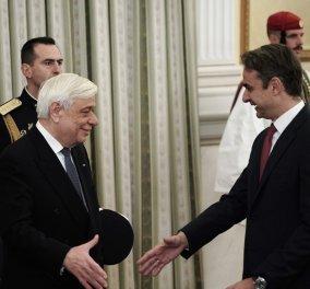 LIVE: Ορκίζεται Πρωθυπουργός ο Κυριάκος Μητσοτάκης  - Κυρίως Φωτογραφία - Gallery - Video