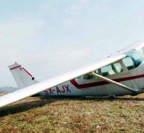 Γρεβενά: Αναγκαστική προσγείωση για μονοκινητήριο αεροσκάφος στην Εγνατία Οδό - Σοκάρει ο πιλότος (φωτό & βίντεο) - Κυρίως Φωτογραφία - Gallery - Video