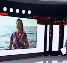 """Η """"on air"""" αντίδραση της Μαρίας Νικόλτσου την ώρα που έγινε ο σεισμός στην Αθήνα - """"Ψυχραιμία, όλα καλά"""" (βίντεο) - Κυρίως Φωτογραφία - Gallery - Video"""