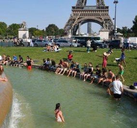 Θερμή «εισβολή» στην Ευρώπη – Ρεκόρ υψηλών θερμοκρασιών σε μεγάλες πόλεις - Κυρίως Φωτογραφία - Gallery - Video