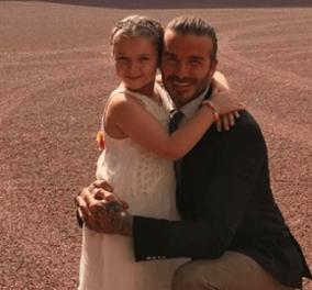 O Μπέκαμ στην πιο τρυφερή φωτό – Χαζομπαμπάς με την κορούλα του Harper - Κυρίως Φωτογραφία - Gallery - Video