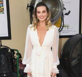 Θεά της ομορφιάς Αφροδίτη - Margot Robbie: H «Ελληνική» τουαλέτα για την πρεμιέρα του Once Upon a Time in Hollywood (φωτό) - Κυρίως Φωτογραφία - Gallery - Video