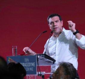 Αλέξης Τσίπρας από Ηράκλειο Κρήτης:  Εμείς ορίζουμε το μέλλον μας - Δεν μας ορίζουν αυτοί που χρεοκόπησαν τη χώρα (βίντεο) - Κυρίως Φωτογραφία - Gallery - Video
