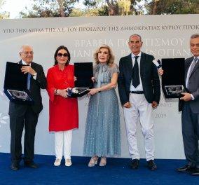 Απονεμήθηκαν για δεύτερη συνεχόμενη χρονιά, τα βραβεία Πολιτισμού «Μαριάννα Β. Βαρδινογιάννη» στην Ερμιονίδα (φωτό) - Κυρίως Φωτογραφία - Gallery - Video