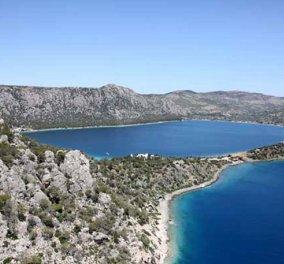 Βίντεο ημέρας: Ταξίδι από ψηλά στη λίμνη Βουλιαγμένης, Περαχώρας - Κυρίως Φωτογραφία - Gallery - Video