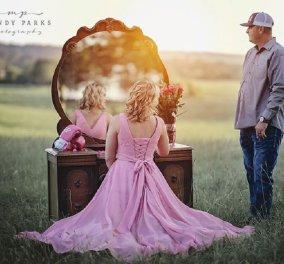 Ο σύζυγος με  δάκρυα στα μάτια κόβει τα μαλλιά της γυναίκας του & την προετοιμάζει για τη χημειοθεραπεία που ξεκινάει λόγω καρκίνου (φώτο) - Κυρίως Φωτογραφία - Gallery - Video