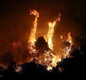 Κεντρικό θέμα στα διεθνή ΜΜΕ η μεγάλη πυρκαγιά στην Εύβοια - Εκαντοντάδες πυροσβέστες δίνουν μάχη με θηριώδεις φλόγες (φώτο) - Κυρίως Φωτογραφία - Gallery - Video