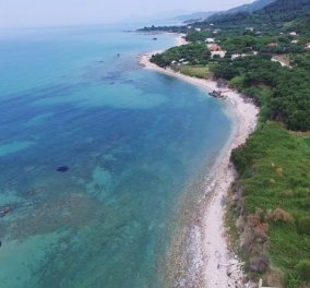 Βίντεο ημέρας: Ρίζα, η πανέμορφη Γαλάζια παραλία της Πρέβεζας - Κυρίως Φωτογραφία - Gallery - Video