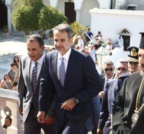 Live: Στην Τήνο ο πρωθυπουργός Κυριάκος Μητσοτάκης - Φωτογραφίες & βίντεο από τη Θεία Λειτουργία  & τους εορτασμούς - Κυρίως Φωτογραφία - Gallery - Video
